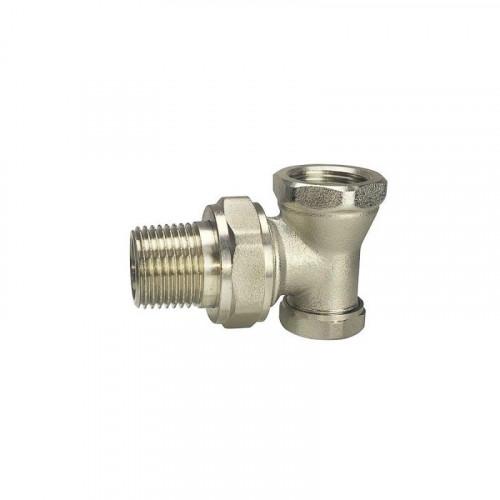 Клапан радиаторный запорный Ду 20 угловой Remsan