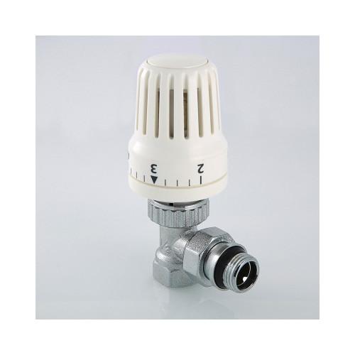 """Клапан с термостатической головкой для рад. угловой 1/2"""" VT.047.N.04 VALTEC"""