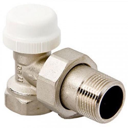 """Клапан термостатический для рад. угловой 1/2"""" VT.031.N.04 VALTEC"""