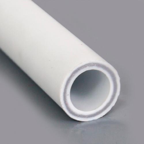 Труба PPR PN 25 белая (армир. стекл.) Дн- 50 х 8,3 мм Remsan