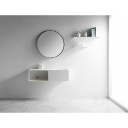 Раковина из искусственного камня 110х40х30см NT505 R, NT Bathroom