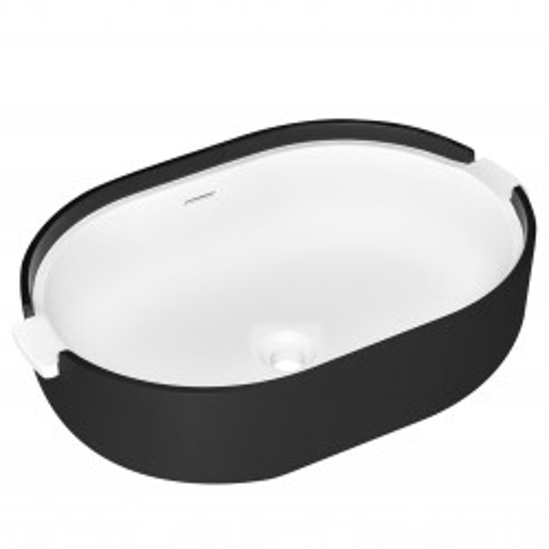 Раковина из искусственного камня 54х39х18см NT601 Black, NT Bathroom