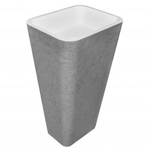 Раковина из искусственного камня 51х41х87см NT605, NT Bathroom