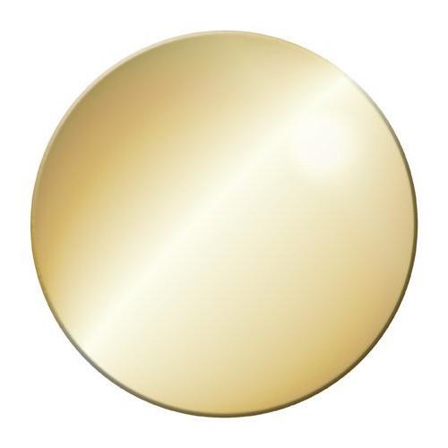 Декоративная крышка золото для сифона CZR-01-90, Cezares