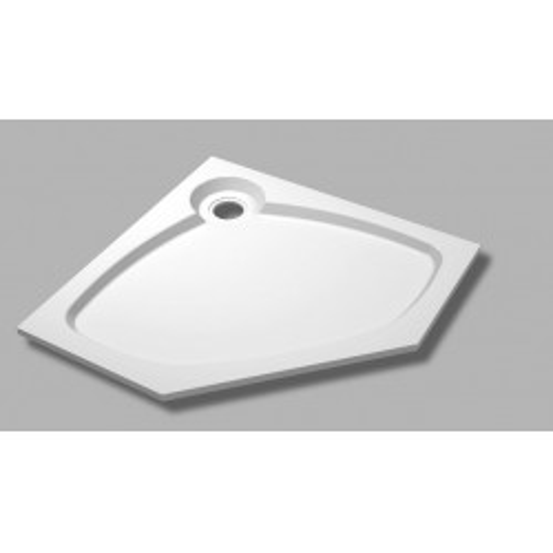 Душевой поддон из искусственного мрамора 90х90х5,6 TRAY-S-P-90-56-GR, Cezares