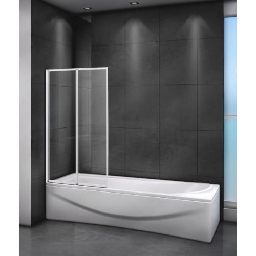 Шторка на ванну 80x145см RELAX-V-2-80/140-C-Bi, Cezares