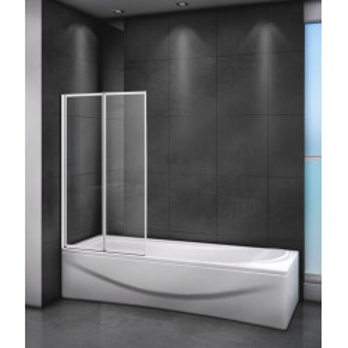 Шторка на ванну 80x145см RELAX-V-2-80/140-P-Bi-L, Cezares