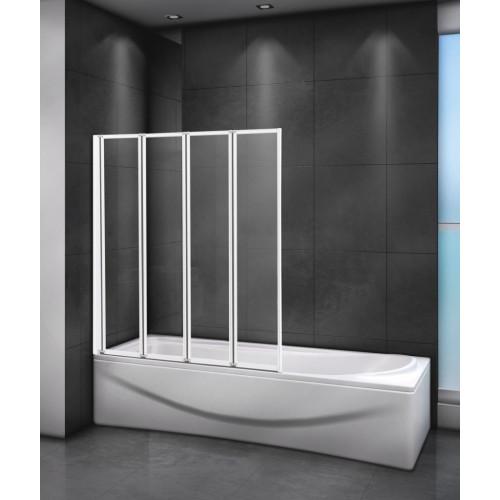 Шторка на ванну 80x140см RELAX-V-4-80/140-C-Bi, Cezares