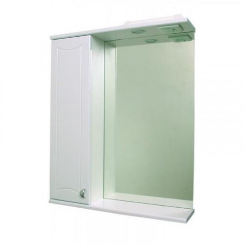Зеркало Классик 50 с подсветкой левое, Tivoli