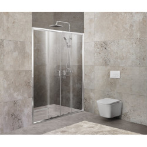 Душевая дверь 180х190мм, UNIQUE-BF-2-150/180-C-Cr, Belbagno
