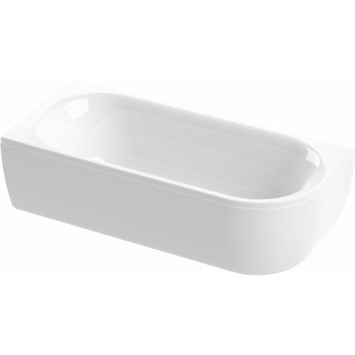 Акриловая ванна 80х180х40см, METAURO CORNER-180-80-40-L, Cezares