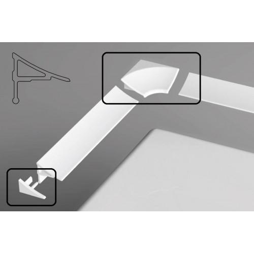 Набор (2 заглушки + 2 угловых соединения) для планки 11, Ravak