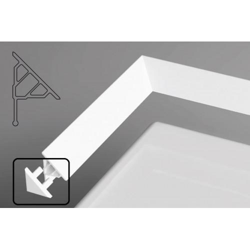 Заглушка декоративной планки 10 для ванн - белая, Ravak