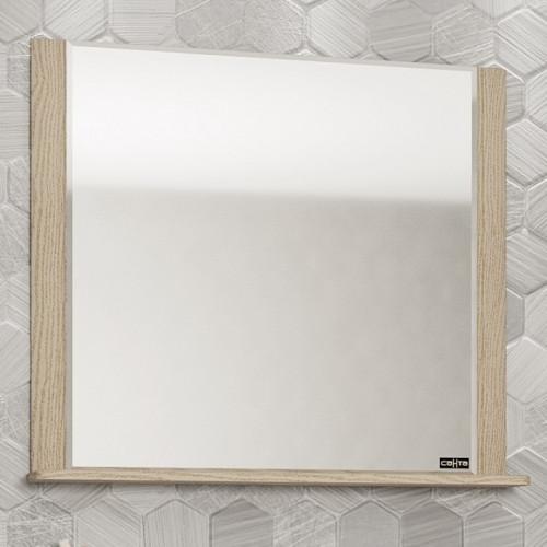 Зеркало Венера 80 бежевый дуб, СанТа