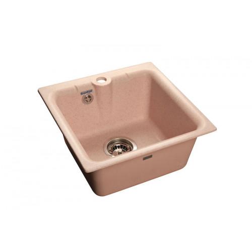 Мойка композитная GRANFEST Practic GF-P420 (417х417) Розовый 315
