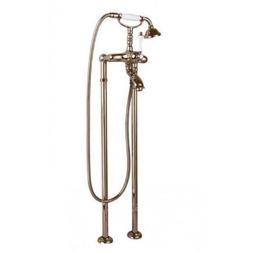 Напольный смеситель для ванны бронза, MARGOT-VDP-02-M, Cezares