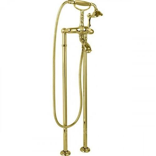 Напольный смеситель для ванны золото, MARGOT-VDP-03/24-M, Cezares
