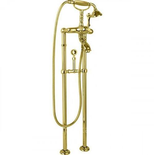 Напольный смеситель для ванны золото, MARGOT-VDPS-03/24-M, Cezares