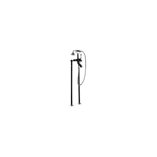 Напольный смеситель для ванны чёрный, MARGOT-VDMP-NLC, Cezares