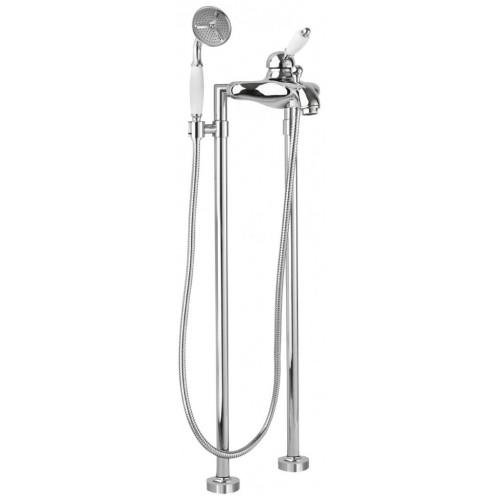 Напольный смеситель для ванны хром, ELITE-VDPM-01-Bi, Cezares