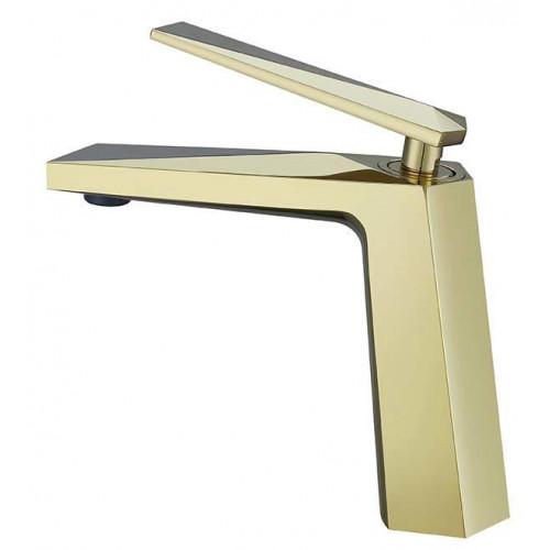 Смеситель для умывальника Venturo, золото, Boheme 381