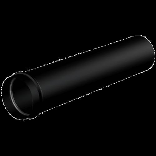 A4000BLACK Удлинитель DN32, черный-мат, Alca Plast