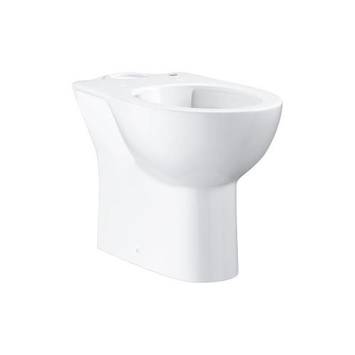 Унитаз напольный для комбинации с бачком наружного монтажа, горизонтальный выпуск, Grohe Керамика Bau 39349000
