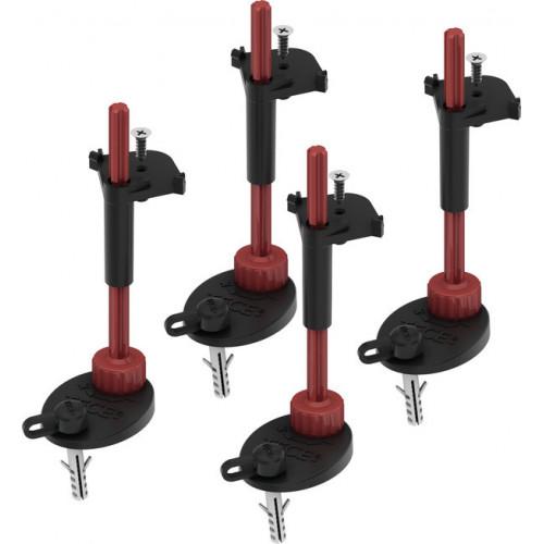 Комплект опор со звукоизолирующими прокладками для сифонов TECEdrainpoint S, Tece