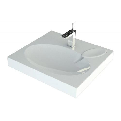 Comfort 600х545 Раковина для ванной комнаты для установки над стиральной машинкой, Andrea