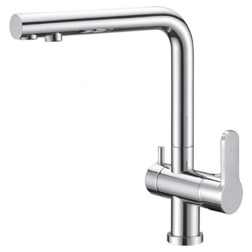 Смеситель для кухни Belbagno Tanaro TAN-LACM-CRM с подключением к фильтру воды
