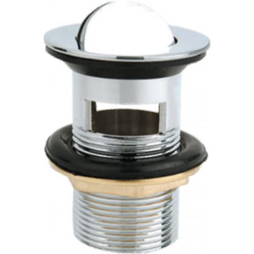 Донный клапан с системой Клик-Клак с переливом, Belbagno, BB-PCU-05-CRM