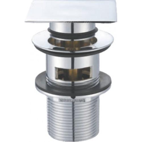 Донный клапан с системой Клик-Клак с переливом, Belbagno, BB-PCU-07-CRM
