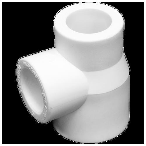 Тройник PPR белый перех. 25 х 25 х 20 Remsan