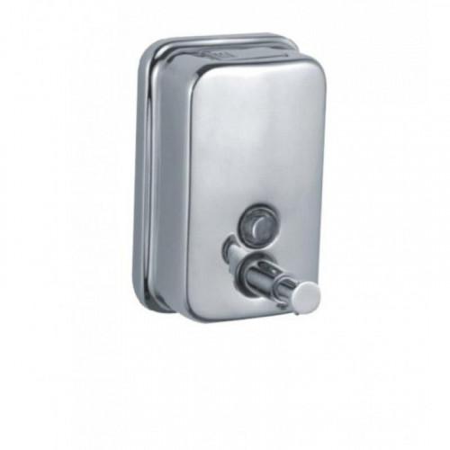 Диспенсер Zalel (TM801) для жидкого мыла хромированный 500 мл, настенный
