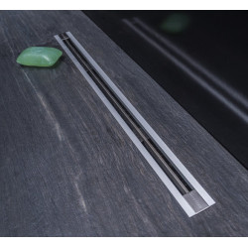 Линейный трап 300 мм ультратонкая модель с дизайн-вставкой Slim, CONFLUO, PESTAN, 13100030