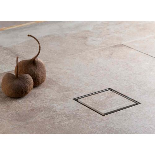 Точечный трап 150 мм полая под плитку, с рамкой, CONFLUO, PESTAN, 13000085