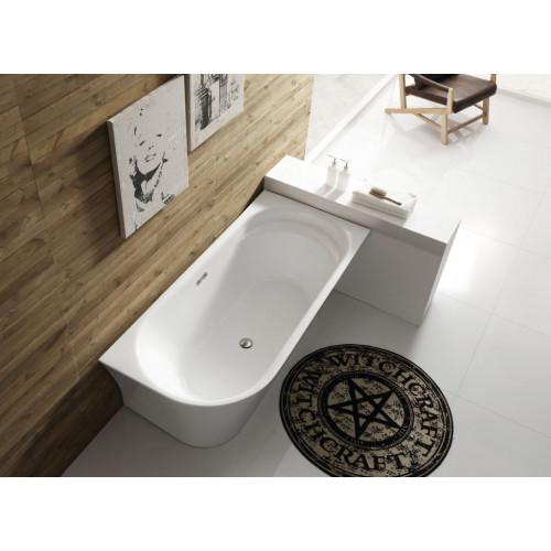 Ванна 150x80х60см пристенная акриловая правая, BB410-1500-780-R, Belbagno