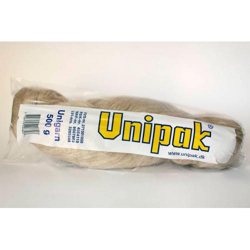 Лен в п/э упаковке коса 500г, UNIPAK