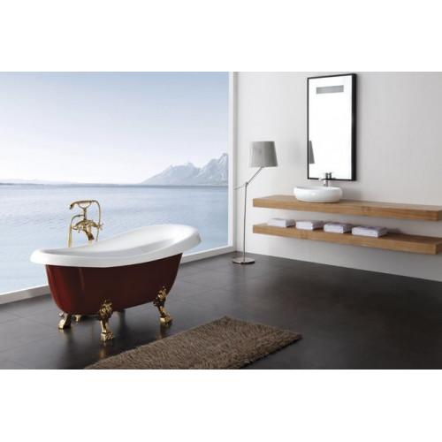 Ванна 170x80х81см отдельностоящая акриловая, BB04-ROS, Belbagno