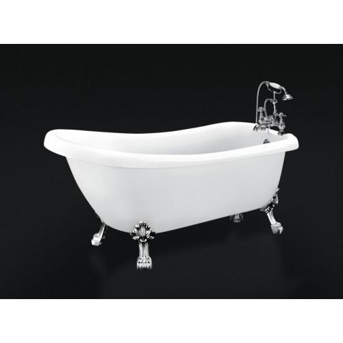 Ванна 168x72х77см отдельностоящая акриловая, BB20-1700, Belbagno