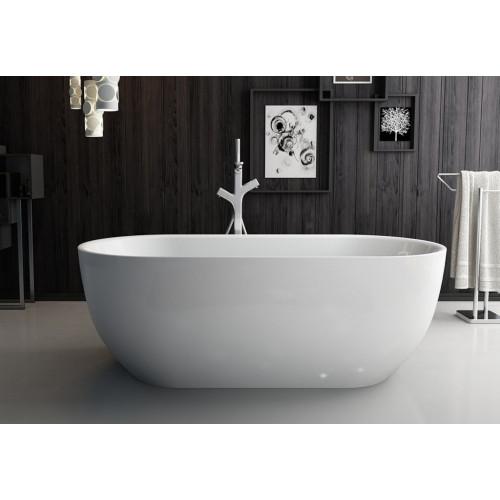 Ванна 150x80х60см отдельностоящая акриловая Belbagno BB70-1500-800