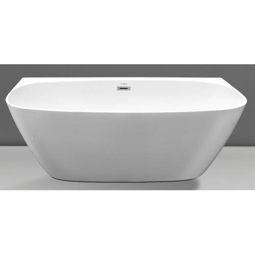 Ванна 170x80х58см пристенная акриловая, Esbano, San Marino