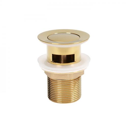 Донный клапан Iddis CLOUD золотой CLOG000i88