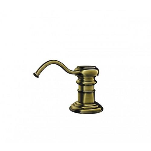Дозатор для мыла античная латунь, Omoikiri, Classic Dispenser OM-01-AB