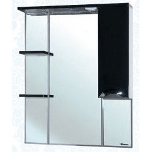 Белла-85 Люкс зеркало шкаф, 83 см, белое, левое, правое, Bellezza