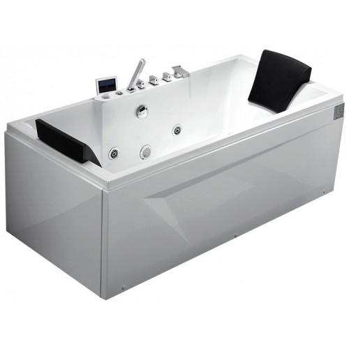 Акриловая гидромассажная ванна Gemy правая G9065 K R