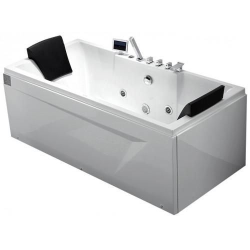 Акриловая гидромассажная ванна Gemy левая G9065 K L