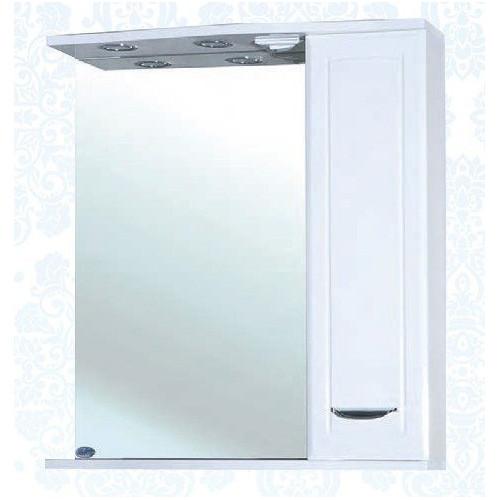 Классик-65 зеркало шкаф, 65 см, белое, левое, правое, Bellezza