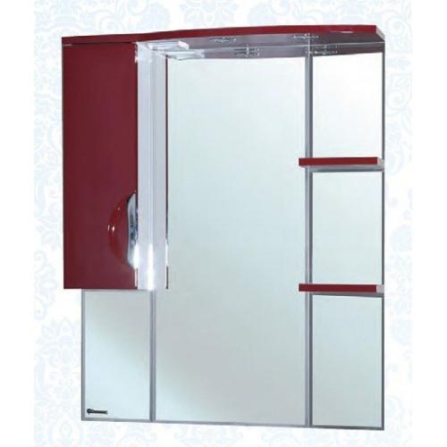 Лагуна-85 зеркало шкаф, 82.5 см, белое, левое, правое, Bellezza