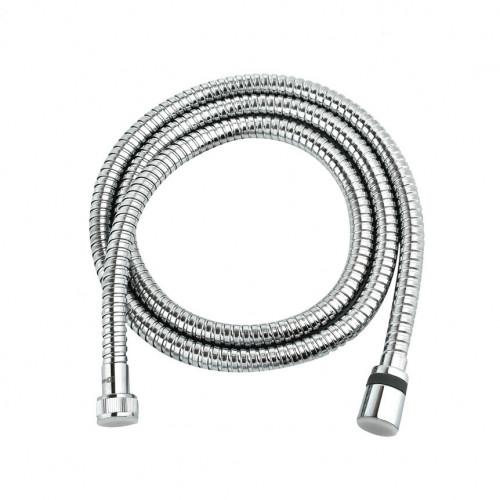 Шланг душевой двухзагибный 1,5 м Lemark LE8033S, TURN-FREE, сталь хромированная, блистер